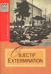 Objectif extermination - Couverture - Format classique