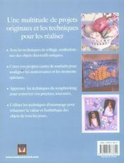 Confections En Papier - 4ème de couverture - Format classique