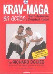 Krav-maga en action : self-defense et combat total - Intérieur - Format classique