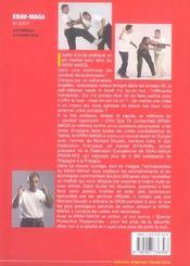 Krav-maga en action : self-defense et combat total - 4ème de couverture - Format classique