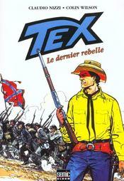 Tex t.3 ; le dernier rebelle - Intérieur - Format classique