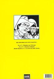 Tex t.3 ; le dernier rebelle - 4ème de couverture - Format classique