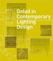 Detail in contemporary lighting design - Couverture - Format classique