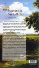 Promenades au pays des hobbits ; 7 itinéraires dans la comté de J. R. R. Tolkien - 4ème de couverture - Format classique
