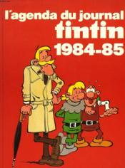 L'Agenda Du Journal De Tintin 1984-85 - Couverture - Format classique