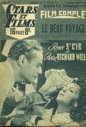 Stars Et Films - N°14 - Le Beau Voyage - Couverture - Format classique