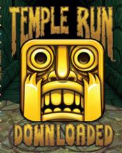 Temple run ; downloaded  - Collectif