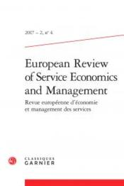 Vente livre :  European review of service economics and management N.4  - Collectif - European Review Of Service Economics And Management