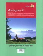 L'ALPE N.28 ; habiter la montagne - 4ème de couverture - Format classique