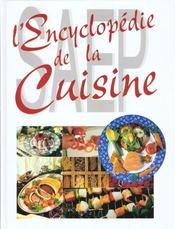 Encyclopedie de la cuisine - Intérieur - Format classique