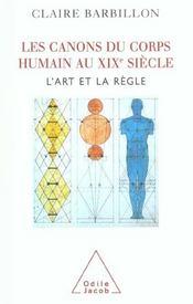 Les Canons Du Corps Humain Dans L'Art Francais Du Xixe Siecle - Intérieur - Format classique