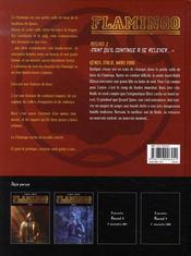Flamingo t.1 ; tant qu'ils continuent à se lever - 4ème de couverture - Format classique