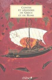 Contes et legendes de grece et de rome - Couverture - Format classique