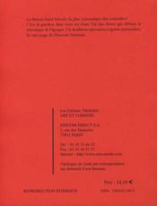 Sand et musset, les amants du siècle - 4ème de couverture - Format classique