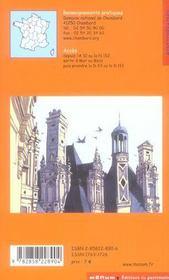Le Chateau De Chambord - 4ème de couverture - Format classique