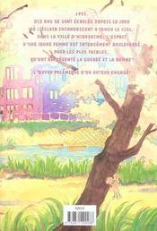 Le pays des cerisiers - 4ème de couverture - Format classique