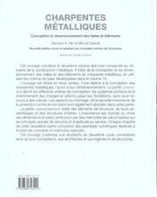 Charpentes metalliques-traites de genie civil volume 11 - 4ème de couverture - Format classique