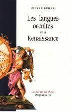 Les Langues Occultes De La Renaissance - Couverture - Format classique