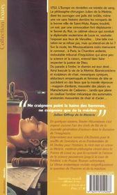 La Venus Anatomique - 4ème de couverture - Format classique