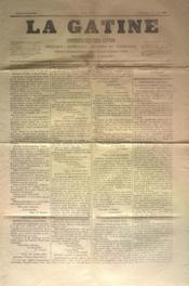Gatine (La) N°33 du 27/10/1870 - Couverture - Format classique