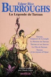 La légende de Tarzan - Couverture - Format classique
