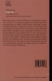 L'An -58. Les Helvetes. Archeologie D'Un Peuple Celte. N82 - 4ème de couverture - Format classique