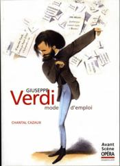 Verdi ; mode d'emploi - Couverture - Format classique