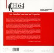 Hermes N.64 ; L'Expertise - 4ème de couverture - Format classique