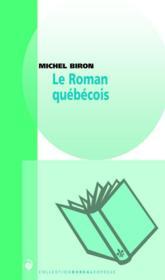 Le roman québécois - Couverture - Format classique