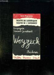 Woyzeck. - Couverture - Format classique