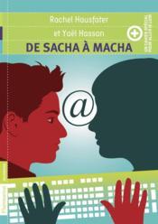De Sacha à Macha + un cahier special pour aller plus loin - Couverture - Format classique