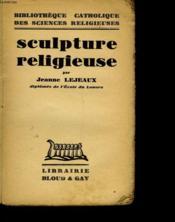 Sculpture Religieuse - Couverture - Format classique