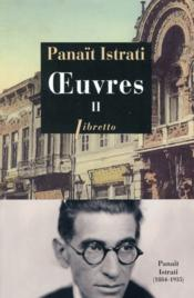 Vente  Oeuvres t.2  - Panait Istrati