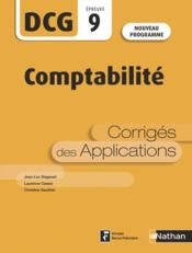Vente  Introduction à la comptabilité ; épreuve 9 ; corrigés des applications (édition 2019)  - Catherine Gauthier - Laurence Cassio - Jean-Luc Siegwart