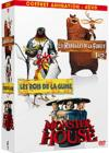 DVD &amp; Blu-ray - Coffret Animation - Les Rebelles De La Fort 1&amp;2 + Les Rois De La Glisse + Monster House
