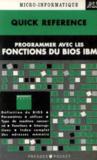 Quick Ref Fonctions Bios Ibm