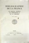 Bibliographie De La France N°1 du 07/01/1955