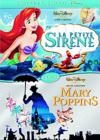 DVD &amp; Blu-ray - La Petite Sirne + Mary Poppins