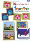 20 Tableautins En Feutrine Repositionnable