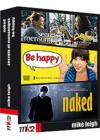 DVD & Blu-ray - Coffret Mike Leigh : Be Happy , Naked , Secrets Et Mensonges