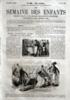 Presse - Semaine Des Enfants (La) N°382 du 27/05/1863