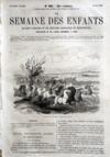 Presse - Semaine Des Enfants (La) N°383 du 30/05/1863
