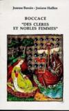 Livres - Boccace, des cleres et nobles femmes