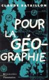Pour la géographie