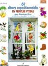 68 Decors Repositionnables En Peinture Vitrail