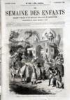 Presse - Semaine Des Enfants (La) N°415 du 19/09/1863