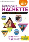 Dictionnaire Hachette (édition 2017)
