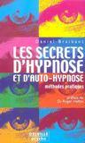 Livres - Secrets d'hypnose et d'auto-hypnose