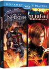 DVD &amp; Blu-ray - Coffret Animation - Dante'S Inferno + Resident Evil Degeneration