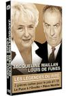 DVD &amp; Blu-ray - Les Lgendes Du Rire - Coffret - Jacqueline Maillan + Louis De Funs